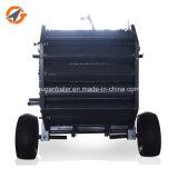 Traktor-Zapfwellenantrieb-kompakte eingehangene gehender Traktor-Miniheu-Ballenpresse