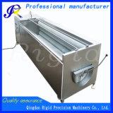 Peladora de patata de la maquinaria del cepillo que se lava