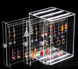 Tiny Anel de acrílico transparente mostrando caixas