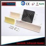 Plaque en céramique infrarouge de chaufferette de conformité de la CE
