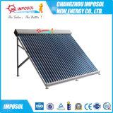 aquecedor solar de água de pressão do tubo de calor para banheiro