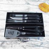 Полный набор инструментов для барбекю барбекю на открытом воздухе кухонные принадлежности,
