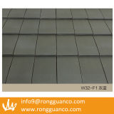 灰色カラー連結水証拠の粘土の屋根