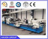 CW6636 시리즈 수평한 큰 스핀들 구렁 기름 국가 선반 기계