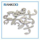 Ranella di bloccaggio dell'anello elastico di U-Figura dell'acciaio inossidabile per l'asta cilindrica