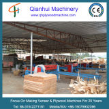 Tour de découpage de placage de machine de tondeuse de placage/contre-plaqué de Hebei Qianhui