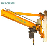 Montado en el pilar de la rotación del brazo de grúa de pluma eléctrica fabricante