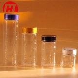 Diferentes tamanhos vazio frasco de vidro transparente vaso do Tubo