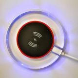 Transparentes Kristallrahmen-Entwurfs-Telefon-aufladenauflage-drahtlose Aufladeeinheits-Auflage