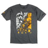T-shirt en coton simple avec logo personnalisé imprimé