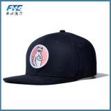 El espacio en blanco se divierte los sombreros del Snapback del panel del casquillo 6 del bordado