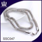 Jóias de moda nova moda colar de corrente de aço inoxidável