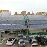 Projecto de grande escala OEM CPC colector solar de tubo de vácuo