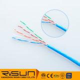 Angeschwemmter UTP Cat5e Kabel-Gebrauch für Steckschnür (flexibles Kurbelgehäuse-Belüftung) 7*0.20 7*0.16