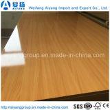 MDF material de la melamina de los muebles de Shandong
