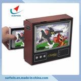 Pappe-Fernsehapparat-intelligentes Telefon-Vergrößerungsglas