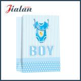 Projetar o saco de papel impresso logotipo da roupa do menino e da menina