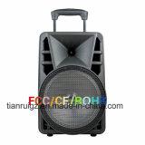 Produtos novos! Altofalante ativo recarregável barato de Feiyang Bluetooth com trole