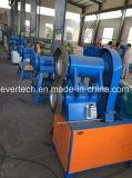 A produção de resíduos de pó de borracha ambiental a máquina
