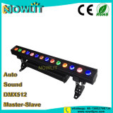 14pcs RGB de 30W 3in1 Outdoor etapa LED Bañador de pared