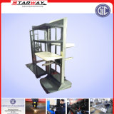 Boucle principale Fabricaotion de Batehroom d'acier inoxydable en métal de crémaillère de balai fait sur commande de stand