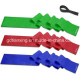 Workout Eco-Friendly Fitness Bandのための体操のExercise Rubber Band Flat Resistance Bands