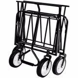 Vagão de dobramento/carrinho de mão de dobramento do trole com de quatro rodas