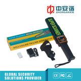 電池が付いている速いボディスキャンの工場点検の携帯用金属探知器