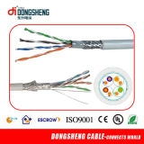 CE / RoHS / ETL LAN Cable Sólido 0.57mm / 0.55mm UTP CAT6