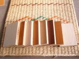 La melamina, madera contrachapada Laminada con Color sólido y de color madera veteada