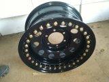 La rotella d'acciaio nera per la jeep 4X4 Beadlock spinge gli orli 6X139.7