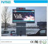 Visualizzazione di LED completa esterna del video a colori P10 per la promozione