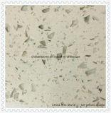 Vente en gros de haute qualité quartz poli surface solide blanche pour comptoir de cuisine