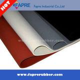 Lamiera sottile della gomma di silicone/lamiera sottile trasparente a temperatura elevata sottile della gomma di silicone