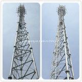 3 ног передачи сигнала WiFi Стальные трубчатые полюс/трубки в корпусе Tower