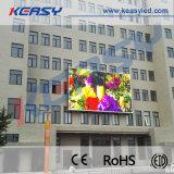 Visualizzazione di LED esterna gigante per fare pubblicità