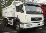 FAWの低価格6X4 16cubicは販売のための10の荷車引きのトラックのダンプトラックをメーターで計る