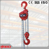 Factory cinese 5t Kixio Chain Block e Pulley Hand Pulling Chain Hoist