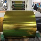 0.18mm una bobina d'acciaio laccata dorata laterale della latta di ETP