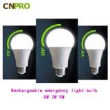 도매가 고품질 7W 지적인 Emergfency LED 전구