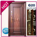 2017 China Metal Exterior de qualidade superior da porta de segurança de aço (EF-S134G)