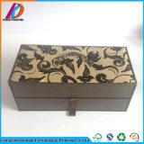 Zwei Schicht-Fach-Pappkoffer-Geschenk-Kasten mit Griff