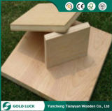 Venda a quente de melamina decoração Bintangor Okoume ou compensado de madeira comercial 1220x2440mm