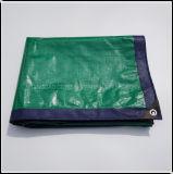 Freezing-Resistant Vert et Bleu PE de bâches pour Zone Industrielle et Minière