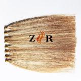 Extensão minúscula desenhada dobro do cabelo humano da ponta do cabelo Mongolian da cor do piano