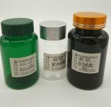 Frasco plástico redondo do animal de estimação de MD-689 80ml para a cápsula
