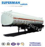Kohlenstoffstahl-flüssiger Transport-Heizöl-Tanker-halb Schlussteil