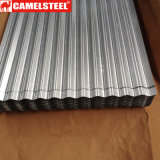 Folha de alumínio ondulada da telhadura
