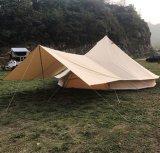 4m 5m 6m Luxuxsegeltuch-Bell-Lotos-Zelt-Familien-Zelte für das Kampieren