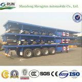 Shengrun China Fabricante Reboque/Recipiente de mesa semi reboque Carreta